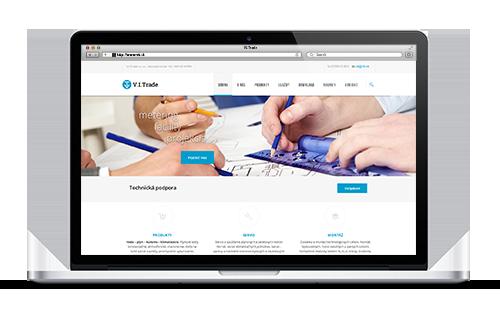 V.I.Trade Website