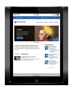 Mensa Slovakia website